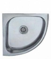 - Krom Üçgen Derin Evye 350x350mm