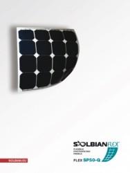 Solbian Flex - Solbian Flex SP 50 Q Marin Esnek Güneş Paneli