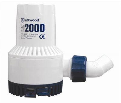 Attwood HD2000 Ağır Hizmet Sintine Pompası 12V
