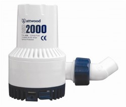 Attwood - Attwood HD2000 Ağır Hizmet Sintine Pompası 12V