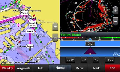 Garmin GPSMAP 922xs Chartplotter
