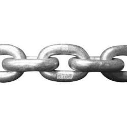 Force Chain - Kalibre Zincir, Daldırma Galvaniz, DIN 766, 12mm