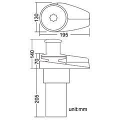South Pacific VS600 6mm, 12V Dik Irgat