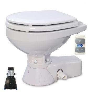 Jabsco Solenoid Beslemeli Küçük Taş 24V Marin Tuvalet