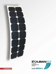 Solbian Flex - Solbian Flex SP 52 L Marin Esnek Güneş Paneli
