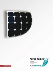 Solbian Flex - Solbian Flex SP 52 Q Marin Esnek Güneş Paneli