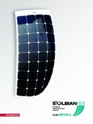Solbian Flex - Solbian Flex SP 118 L Marin Esnek Güneş Paneli