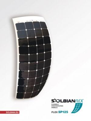 Solbian Flex SP 130 Marin Esnek Güneş Paneli