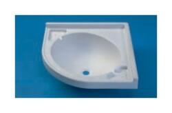 CKW Carysan - CKW Carysan Fiber Sağ Köşe Banyo Eviyesi