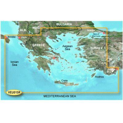 Garmin GPS Marmara - Ege Haritası