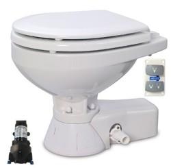 Jabsco - Jabsco Solenoid Beslemeli Küçük Taş 12V Marin Tuvalet