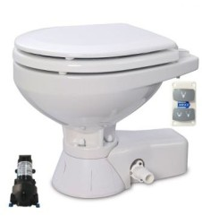 Jabsco - Jabsco Solenoid Beslemeli Küçük Taş 24V Marin Tuvalet