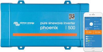 Victron Energy Phoenix 24V 500VA İnverter, Direct Schuko